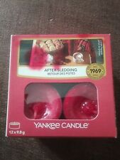 Yankee Candle Tea Lights - after sledding - box of 12