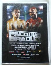 2012 Boxing Program Press Kit - Manny Pacquiao vs Timothy Bradley