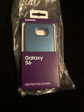 Samsung Protective Clip-On Case Cover for Galaxy S6 - Blue