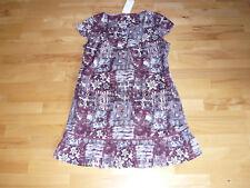 Kleid * Sommer Kleid v. S. OLIVER, Gr. 42, weinrot-gem., NEU!