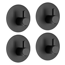 4PCS/set Wall Hanger Towel Hooks Self Adhesive Stainless Steel  Clothes Hooks