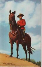 Royal Canadian Mounted Police RCMP Colored - Unused  Excellent
