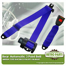 Rear Automatic Seat Belt For Morris Minor 1000 Convertible 4dr 1962-1971 Blue