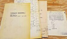 Midway's Tornado Baseball Schematics 1976