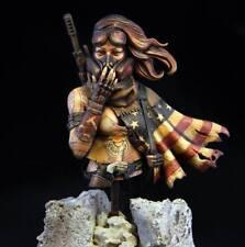 1/10 resin figure bust model garage kit Fantasy women soldiers R2592 Resin kit