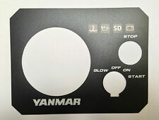 Yanmar b-type b type engine instrument panel 3YM30 3YM20 2YM15 129271-91120 3m