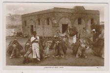 Aden postcard - Caravan at Rest, Aden - RP (A11)