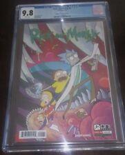 RICK & MORTY COMIC #1 1st print Bridge City comics VARIANT COVER  CGC 9.8