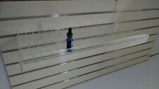Slat Wall Shelf for 10 mL E-Liquid/E-Juice Bottles (for E-Cigs)