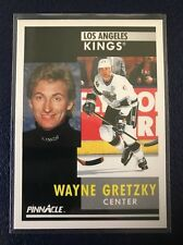 WAYNE GRETZKY  1991-92 Pinnacle #100  MINT  Pack Fresh w/Top Loader!