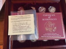 1995-1996 Atlanta Olympic Games Gold Silver Clad Proof 32 Coin Commemorative Set