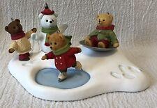 Hallmark 2002 Hollyday Hill Teddy Bears Ornaments