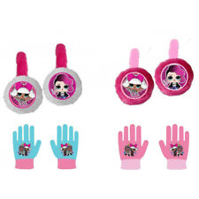 LoL Winter Ear Muffs & Gloves Set Girls Kids Children's New Official