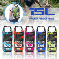 15L Camouflage Waterproof Dry Bag Sack For Floating Boating Kayaking