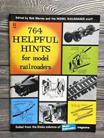 Vintage 764 Helpful Hints For Modern Railroads Magazine 1965