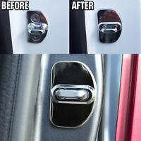 Car Door Lock Cover Trim Protector For Audi A3 S3 A6 C5 C6 A4 S4 B6 B7 B8 S4 Q5