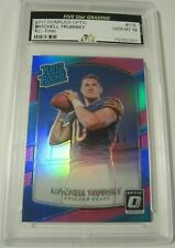 2017 Donruss Optic Pink #178 Mitchell Trubisky Rated Rookies Gem Mint 10 BEARS