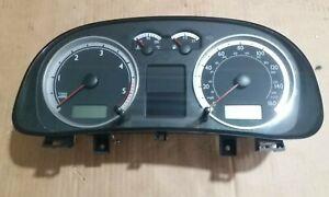VW VOLKSWAGEN BORA 1.9 TDI SPEEDOMETER CLOCKS 1J5920926C DIALS 161K (1999-2006)