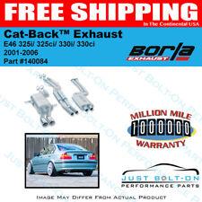 Borla Catback Exhaust FITS 01-06 BMW E46 325i/325ci/330i/330ci 140084