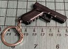 GLOCK KeyChain /  KeyRing Model 17 GEN 5 Black Plastic Mini Pistol Collector