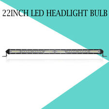 """20""""inch Ultra Slim High Output LED Work Light Bar Single Row Combo Beam Offroad"""