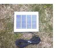 Panel Solar De Aleación 12V1.2W para cargar 8.4V & 9V lucen