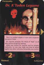 ILLUMINATI:New World Order-Steve Jackson-Lot 588-1 Card