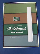 SON-NEL Products 1963 Catalog Asbestos Chalkboards Schools
