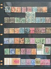 More details for india 1854-1933 qv to kgv mint and used collection of values sg 3-215