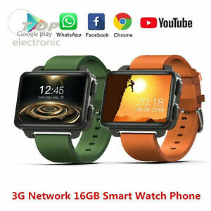 DM99 Android Smart watch 5.1 3G Network 1GB+16GB GPS WIFI BT4.0 1.3MP Camera
