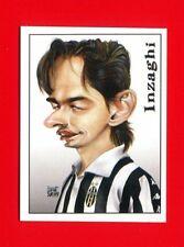 CALCIATORI Panini 2000 - Figurina-Sticker n. 453 - INZAGHI - CARICATURA -New
