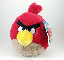 NEW Angry Birds Red Cardinal Plush Stuffed Animal No Sound