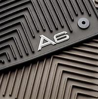 NEW OEM AUDI A6 2007-2011 All Weather Floor Mats set of 4 Black 4F1061450A041