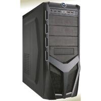 CASE PER PC ATX CON ALIMENTATORE 500W VENTOLA 12cm 4 USB+AUDIO FRONTALI CASF06