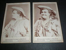 Cdv old photograph actor William Rignold Lock & Whitfield London c1870s
