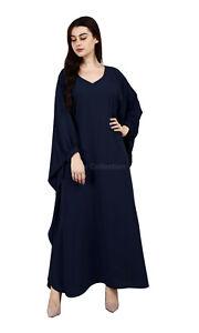 Women's Dubai Haj Abaya Dress Muslim Clothing Islamic Abaya maxi Jalabiya Gown