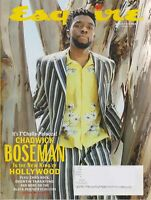 Esquire Magazine- Summer of 2018 Chadwick Boseman New King of Hollywood