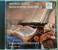 HEINRICH SCHÜTZ: Musikalische Exequien. Knabenchor Hannover. HEINZ HENNIG AM/NDR