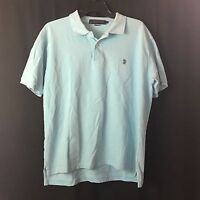 Mens USPA US Polo ASSN Shirt Short Sleeve Large Light Blue