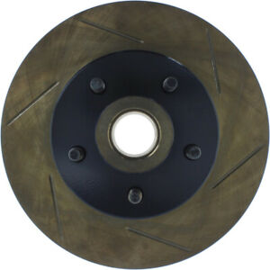 Disc Brake Rotor-Front Disc Front Left Stoptech 126.61010SL