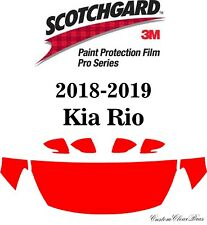 3M Scotchgard Paint Protection Film Pro Series Clear Fits 2018 2019 Kia Rio