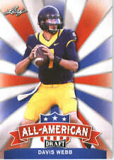 2017 Leaf Draft Football All-American #AA-08 Davis Webb