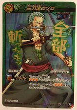 One Piece Miracle Battle Carddass Promo V OP 02 Zoro Straw Hat Pirates
