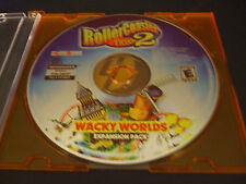 RollerCoaster Tycoon 2: Wacky Worlds (PC, 2003) - Disc Only!!!!