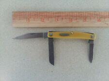 Vintage Schrade Knife/ Schrade Walden Old Timer 835Y Small Stockman Knife NY USA