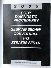 2005 Chrysler Sebring / Stratus Body Diagnostic Procedures Manual 81-270-05112
