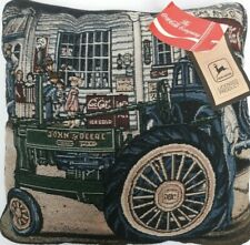 Coca Cola / John Deere Americana Tapestry Throw Pillow Preowned With Tags