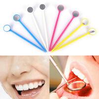 10Pcs Dentaire Miroir Dentiste Outil Pour L'Inspection De Nettoyage Des Dent FE