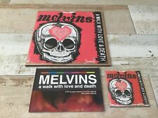 MELVINS  A WALK WITH LOVE AND DEATH SOUNDTRACK FLESH PINK VINYL LP BLU-RAY BOOK