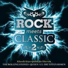 ROCK MEETS CLASSIC 2 CD Klassik Stars spielen Rolling Stones Toten Hosen U2 Oasi